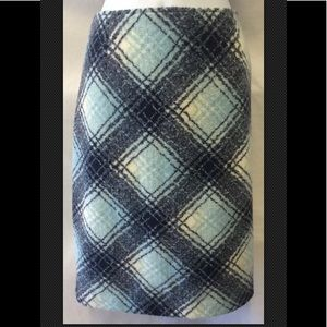 HANNA ANDERSSON Winter Plaid Blue Lined Fuzzy